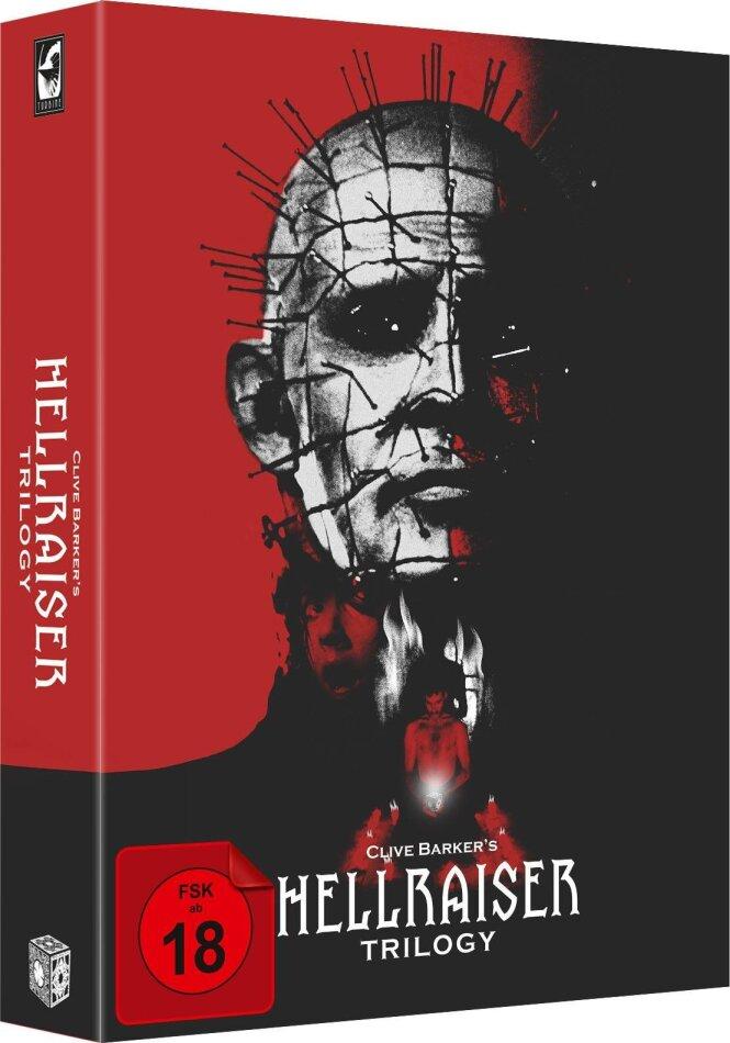 Hellraiser Trilogy (Digipack, Collector's Edition, Uncut, 4 Blu-rays + DVD)