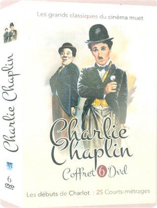 Charlie Chaplin (Box, s/w, 6 DVDs)