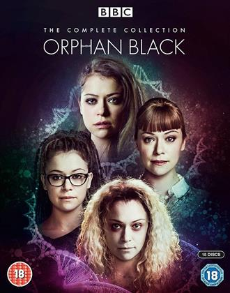 Orphan Black - The Complete Collection (BBC, 15 Blu-rays)