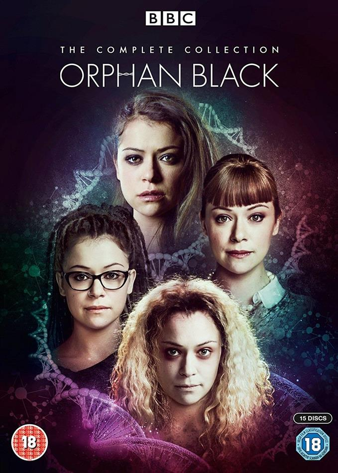 Orphan Black - The Complete Collection (BBC, 15 DVDs)