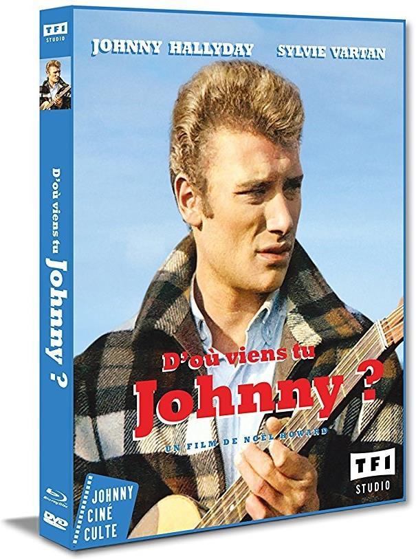 D'où viens-tu Johnny ? (1963) (s/w, Blu-ray + DVD)
