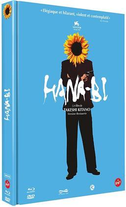 Hana-Bi (1997) (Limited Edition, Mediabook, Restaurierte Fassung, Blu-ray + DVD + CD)