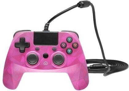 snakebyte PS4 Game Pad 4 S - Pink Camouflage