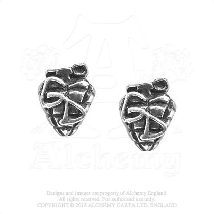 Green Day Stud Earrings - Grenade
