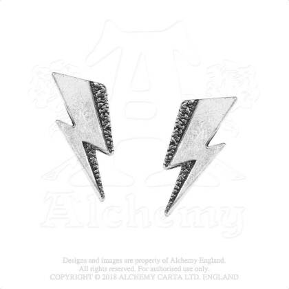 David Bowie Stud Earrings - Flash