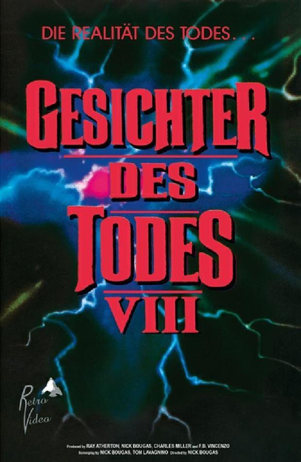 Gesichter des Todes 8 (1993) (Grosse Hartbox, Cover A, Edizione Limitata, Uncut)
