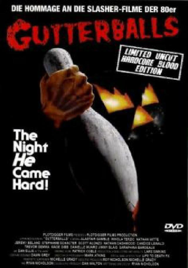 Gutterballs (2008) (Grosse Hartbox, Cover A, Hardcore Blood Edition, Collector's Edition, Limited Edition, Special Edition, Uncut)