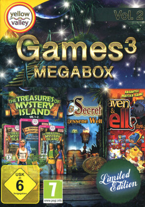 Games 3 Mega Box Vol. 2 (Limited)