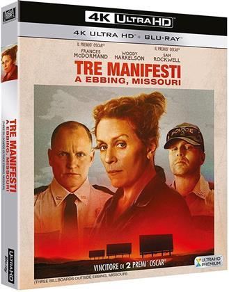 Tre Manifesti a Ebbing, Missouri (2017) (4K Ultra HD + Blu-ray)