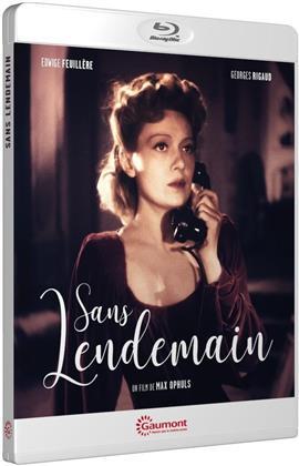 Sans lendemain (1939) (Collection Gaumont Découverte, n/b)