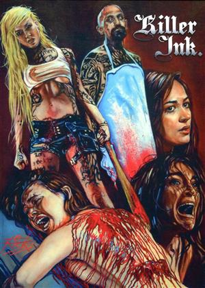 Killer Ink. (2015) (Cover B, Extended Edition, Limited Edition, Mediabook, Uncut, Blu-ray + DVD)