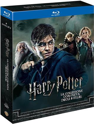 Harry Potter 1 - 7 - La collezione completa degli 8 film (Neuauflage, 8 Blu-rays)