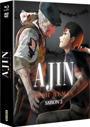 Ajin: Demi-Human - Saison 2 (Collector's Edition, Limited Edition, 2 Blu-rays + 3 DVDs)