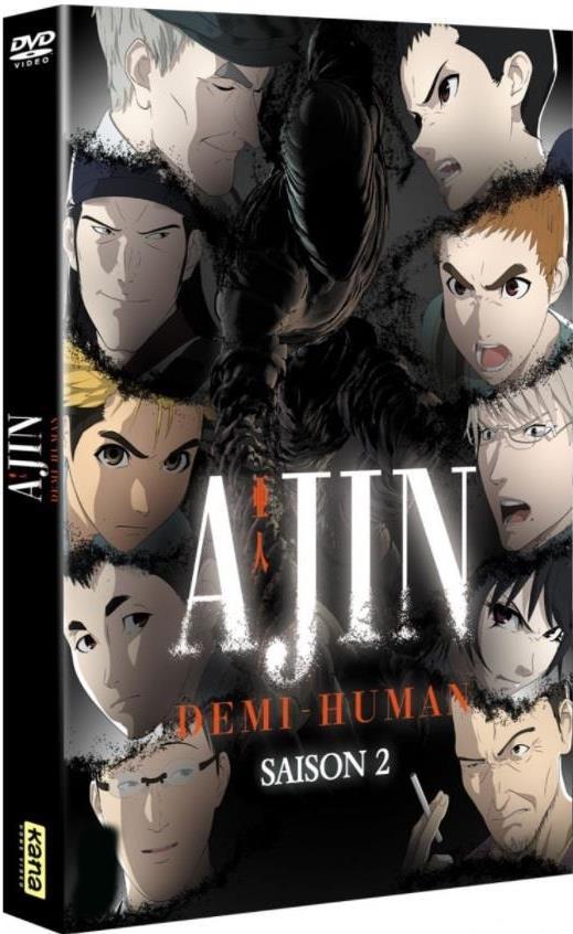 Ajin: Demi-Human - Saison 2 (Digibook, 3 DVDs)