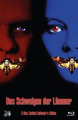 Das Schweigen der Lämmer (1991) (Cover C, Collector's Edition, Limited Edition, Mediabook, Uncut, Blu-ray + DVD)