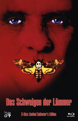 Das Schweigen der Lämmer (1991) (Cover B, Collector's Edition, Limited Edition, Mediabook, Uncut, Blu-ray + DVD)