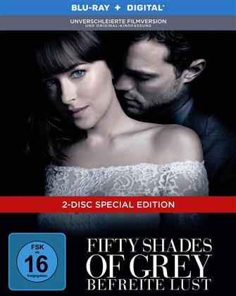 Fifty Shades of Grey 3 - Befreite Lust (2018) (Unverschleierte Filmversion, Original-Kinofassung, Limited Edition, Mediabook, Special Edition, Blu-ray + DVD)