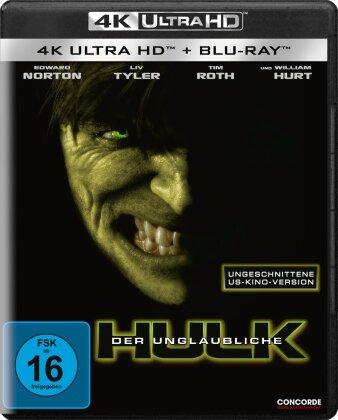 Der unglaubliche Hulk (2008) (4K Ultra HD + Blu-ray)