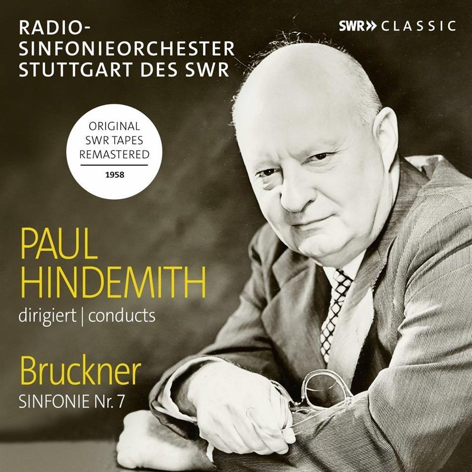 Anton Bruckner (1824-1896), Anton Bruckner (1824-1896), Paul Hindemith (1895-1963) & Radio-Sinfonieorchester Stuttgart - Symphonie Nr. 7
