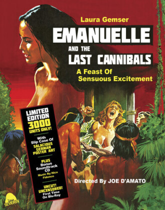 Emanuelle and the Last Cannibals (1977) (Limited Edition, Blu-ray + CD)