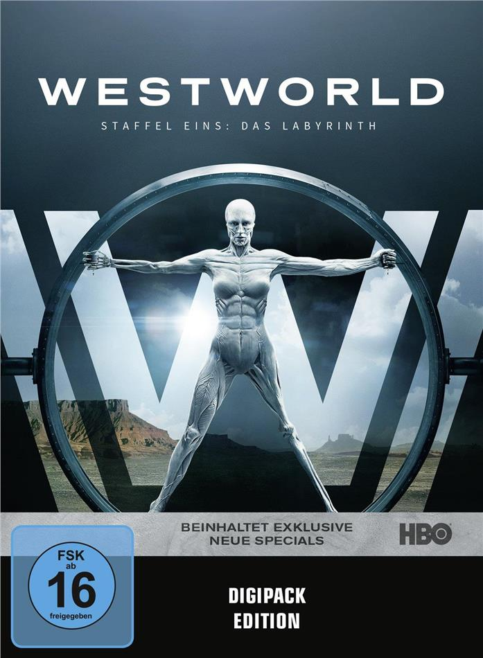 Westworld - Staffel 1 (Digipack, 3 DVDs)