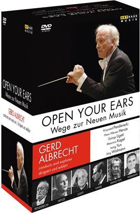 Deutsches Symphonie-Orchester Berlin, … - Open Your Ears - Wege zur Neuen Musik (Arthaus Musik, 6 DVDs)