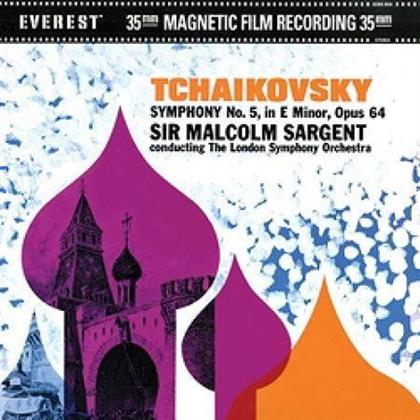 Peter Iljitsch Tschaikowsky (1840-1893) & Sir Malcolm Sargent - Symphony No. 5 (45 RPM, 2 LPs)