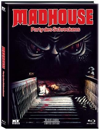 Madhouse - Party des Schreckens (1981) (Cover A, Limited Edition, Mediabook, Blu-ray + DVD)