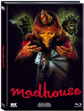 Madhouse (1981) (Cover B, Limited Edition, Mediabook, Blu-ray + DVD)