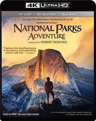 National Parks Adventure (4K Ultra HD + Blu-ray 3D + Blu-ray)