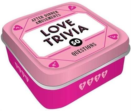After Dinner Amusements - Love Trivia - 50 Questions