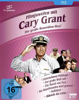 Filmjuwelen mit Cary Grant - Die groses Komödien-Box (6 Blu-rays)