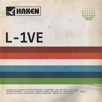 Haken - L-1Ve (@Melkweg Amsterdam) (2 CDs + 2 DVDs)