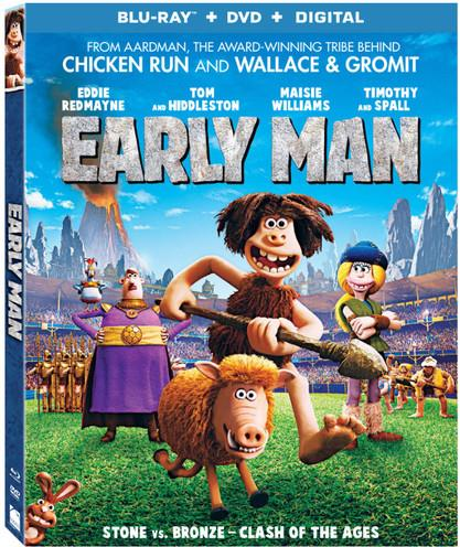 Early Man (2018) (Blu-ray + DVD)