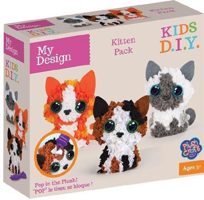 PlushCraft My Design 3D Minis Kitties