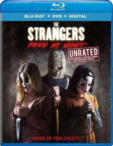 The Strangers 2 - Prey At Night (2018) (Unrated, Blu-ray + DVD)