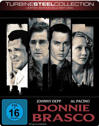Donnie Brasco (1997) (Turbine Steel Collection, Edizione Limitata, Steelbook)