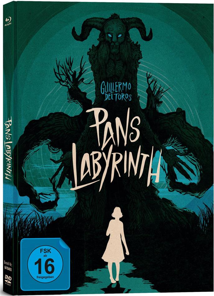 Pan's Labyrinth (2006) (Collector's Edition, Edizione Limitata, Mediabook, 2 Blu-ray + DVD)