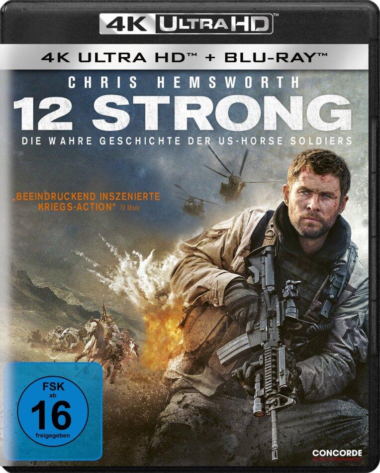 12 Strong - Die wahre Geschichte der US-Horse Soldiers (2018) (4K Ultra HD + Blu-ray)