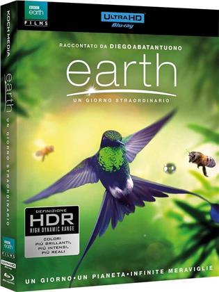 Earth - Un giorno straordinario (2017) (4K Ultra HD + Blu-ray)