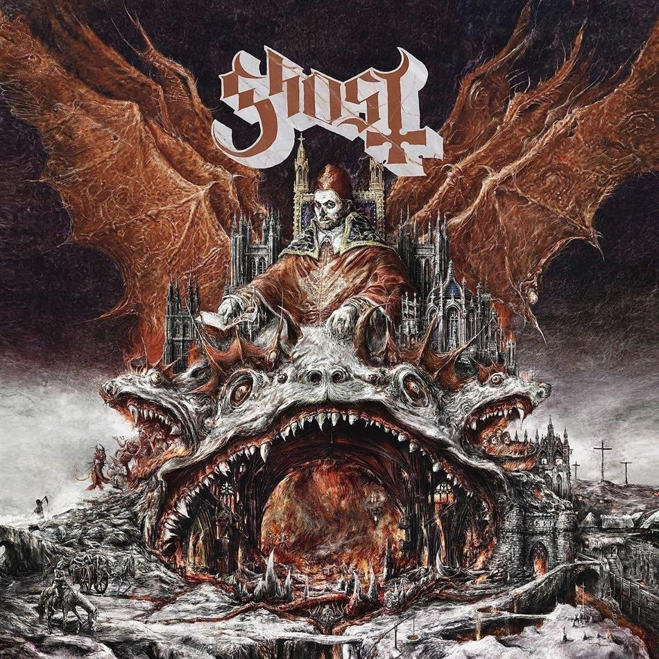 Ghost (B.C.) - Prequelle (Clear/Silver Swirl Vinyl, LP)