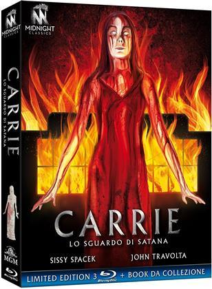 Carrie - Lo sguardo di Satana (1976) (Midnight Classics, Edizione Limitata, 3 Blu-ray)