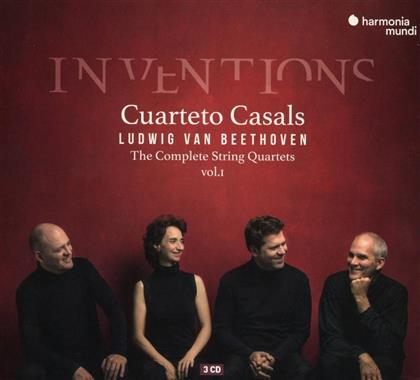 Cuarteto Casals & Ludwig van Beethoven (1770-1827) - Inventions - Complete String Quartets