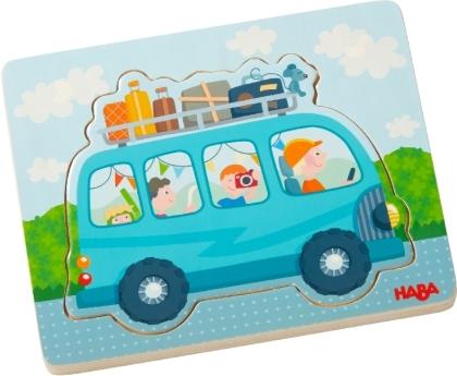 Holzpuzzle Fahrspaß (Kinderpuzzle)