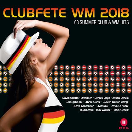 Clubfete WM 2018:63 Club WM & Party Hits (3 CD)
