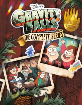 Gravity Falls - The Complete Series (Collector's Edition, 7 Blu-ray)