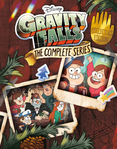 Gravity Falls - The Complete Series (Collector's Edition, 7 Blu-rays)