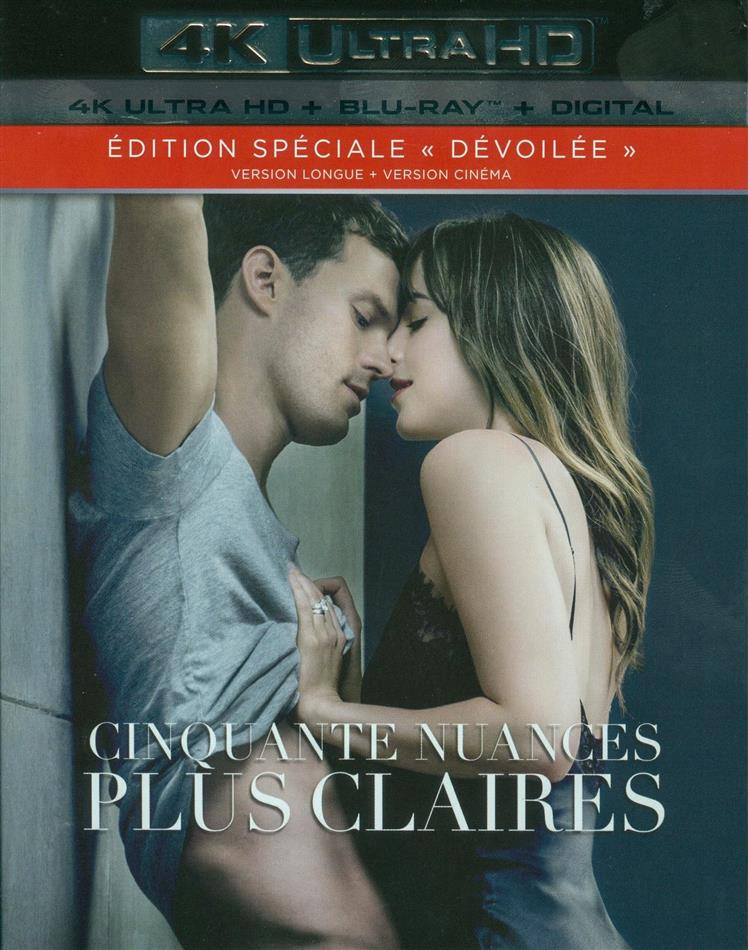 Cinquante nuances plus claires (2018) (Edition Dévoilée, Extended Edition, Kinoversion, Special Edition, 4K Ultra HD + Blu-ray)