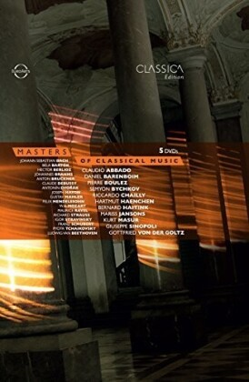 Various Artists - Masters of Classical Music (Euro Arts, 5 DVDs)