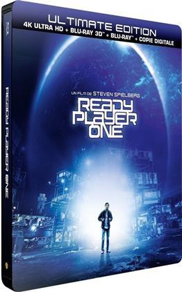 Ready Player One (2018) (Edizione Limitata, Steelbook, Ultimate Edition, 4K Ultra HD + Blu-ray 3D + Blu-ray)